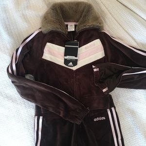 One of a kind Adidas Track Suit